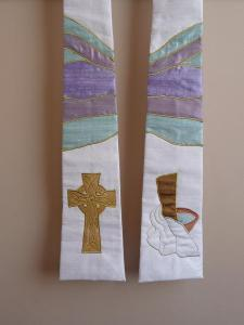 Celtic Cross and Foot Washing